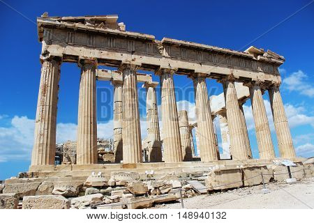 building, construction, landmark, antiquity, Acropolis, the Parthenon, columns