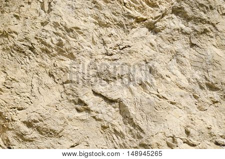 The texture of the surface of a mountain in the North Caucasus Russia