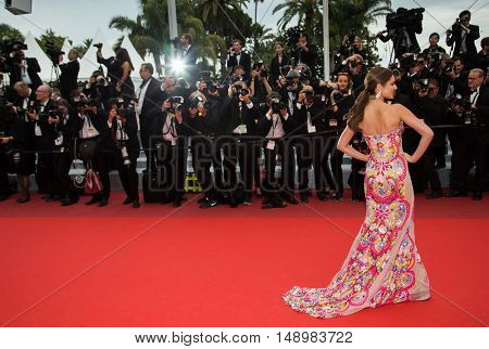 Cheryl Fernandez-Versini attends the screening of 'Slack Bay (Ma Loute)'  premiere at the 69th Festival de Cannes. May 13, 2016  Cannes, France