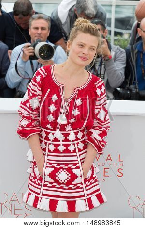 Melanie Thierry  at the photocall for The Dancer (La Danseuse) at the 69th Festival de Cannes. May 13, 2016  Cannes, France