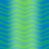 Abstract wallpaper illustration of wavy flowing energy poster