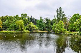 Hdr Botanical Garden In Warsaw