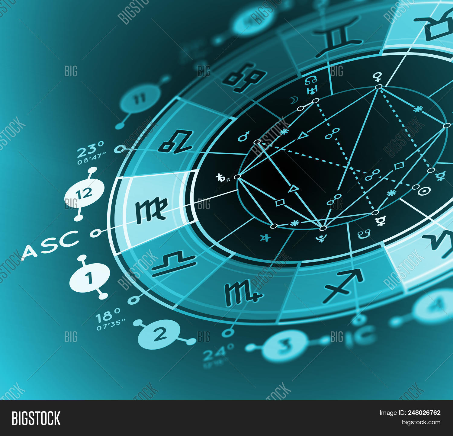 Astrology Background. Image & Photo Free Trial   Bigstock