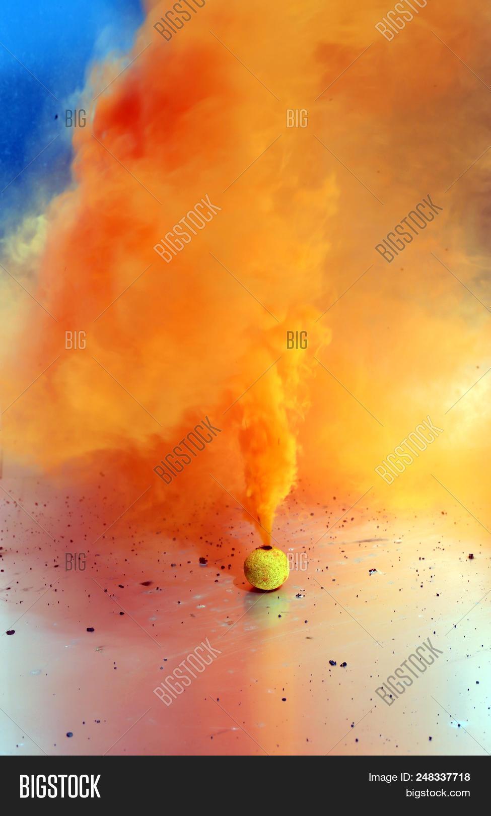 Smoke Bomb  4th July Image & Photo (Free Trial) | Bigstock