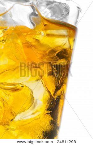 Closeup Whiskey Shot