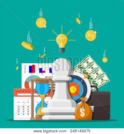 business strategy vector photo free trial bigstock
