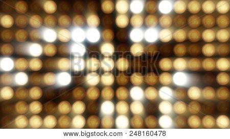 Flashing Lights Bulb Spotlight Flood Lights Vj Led Wall Stage Led Display Blinking Lights Motion Gra