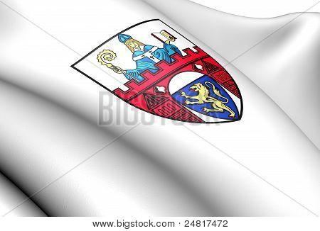 Siegen Coat Of Arms, Germany.