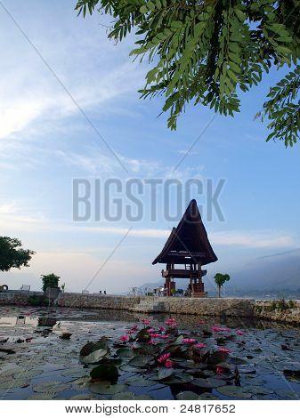Lake Toba and its view around