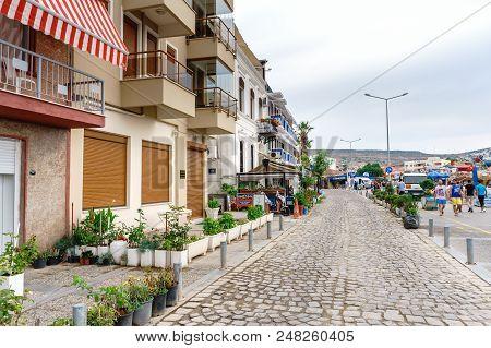 Street View In Foca Izmir
