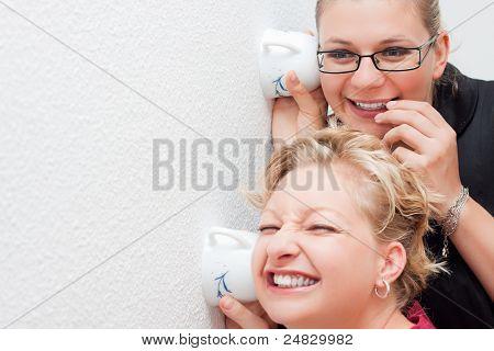 Women Spying