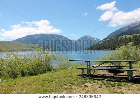 Beautiful Lake Wallowa, Which Is Situated In Northeastern Oregon, Is A Delight For The Eyes.