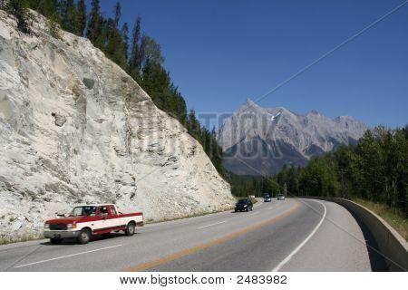 Cars In Rockies