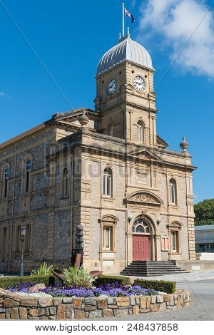 Historic Townhall, Famous Place Of Albany, Western Australia