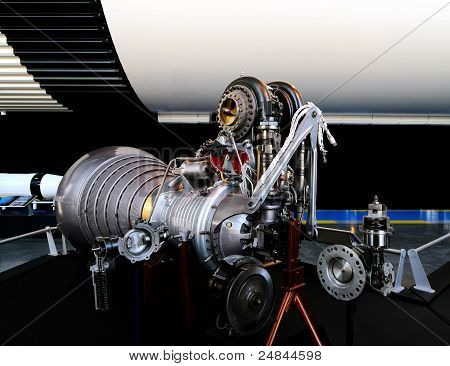 Early Rocket Engine