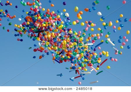 Air-Balloons In The Sky