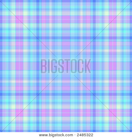 Pink And Blue Plaid