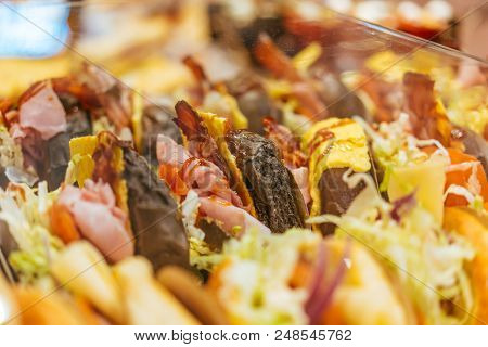 Street Food From A Close Angle, Macro Photography