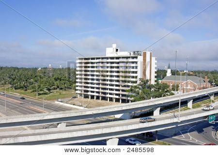 Katrina Damaged High Rise Building