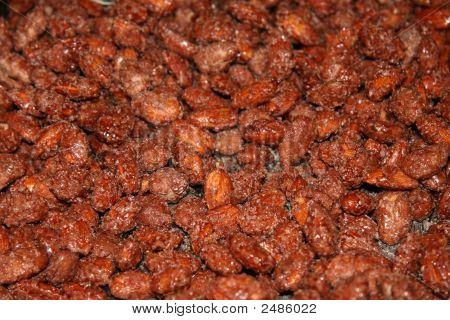 Bavarian Nut Textured Background