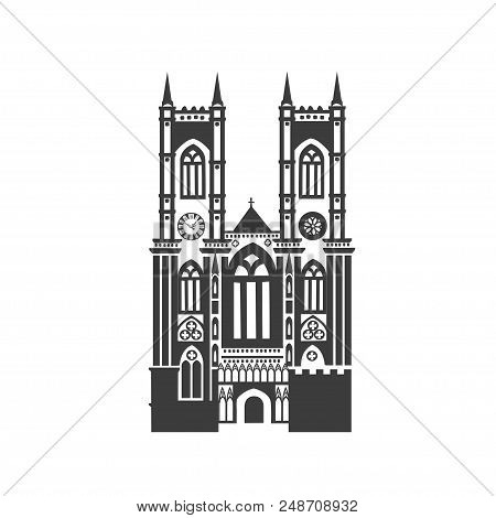 Vector Icon Of Westminster Abbey