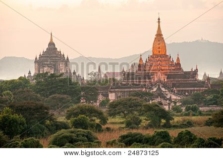Bagan Twilight, Myanmar..