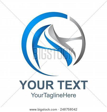 3d Abstract Ah Letter Vector Technology Logo, A Letter Vector, H Letter Logo, Ah Letter Logo, A And