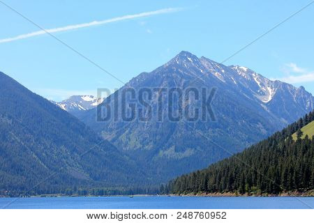 Blue Mountains Of Northeastern Oregon And Lake Wallowa.