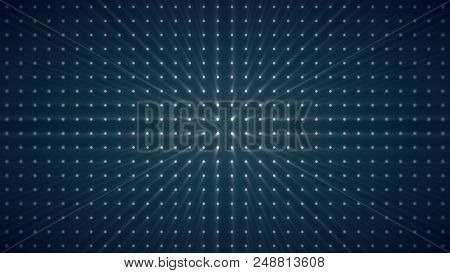 Strobe Lights Flashing Background Vj Loop Blue Lights Board Wall Of Lights. Box Lights Wall Loop Bac