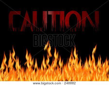 Caution Flames