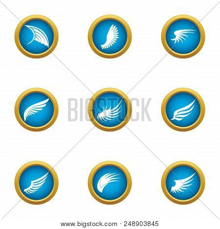 Mudguard Icons Set. Flat Set Of 9 Mudguard Vector Icons For Web Isolated On White Background