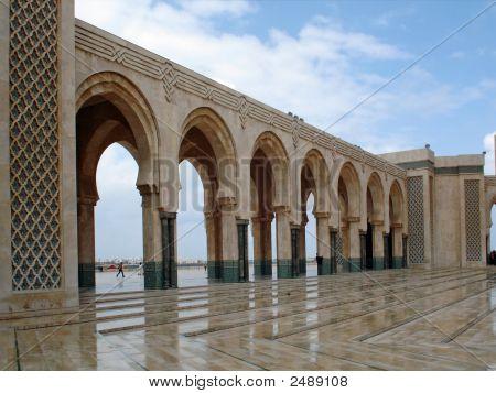Casablanca Hassan Ii Moschee Bögen