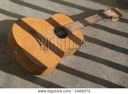Gitarre Schatten