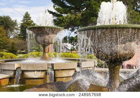 Gala Street Fountains Invercargill, Southland New Zealand