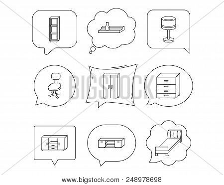 Cool Single Bed Tv Table Vector Photo Free Trial Bigstock Download Free Architecture Designs Scobabritishbridgeorg