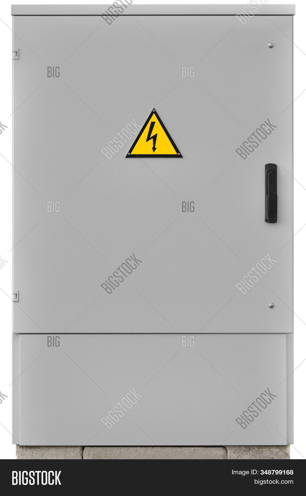 Power Distribution Wiring Switchboard Panel Outdoor Unit, Grey Brand New Distributing Board Compartm