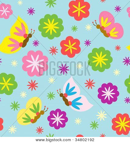 Spring Blooming Pattern