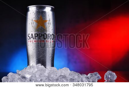 Can Of Sapporo Beer