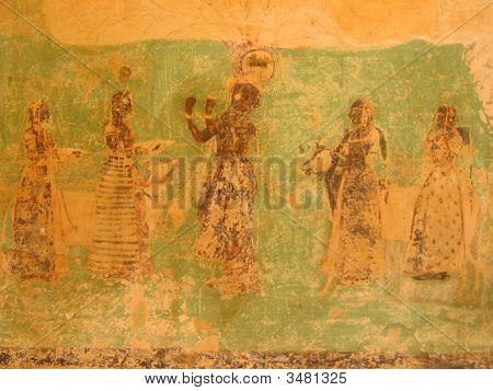 Old Wall Painting