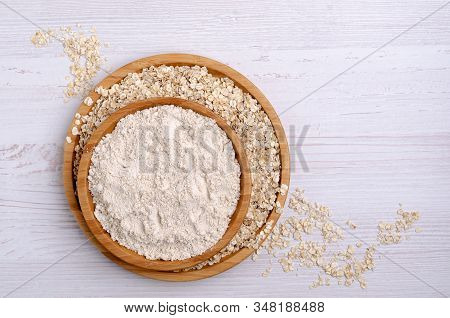 Flour Made From Oats.