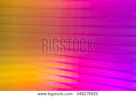 Bright And Warm Flow Of Color In This Background.
