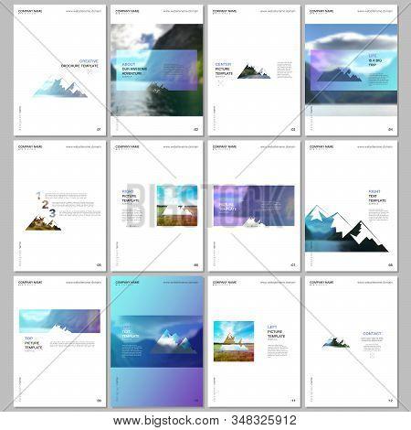 Creative Brochure Templates. Covers Design Templates For Flyer, Leaflet, Brochure, Report, Presentat
