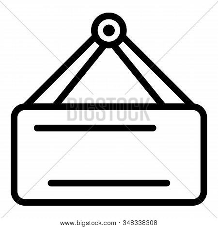Portable Fridge Icon. Outline Portable Fridge Vector Icon For Web Design Isolated On White Backgroun