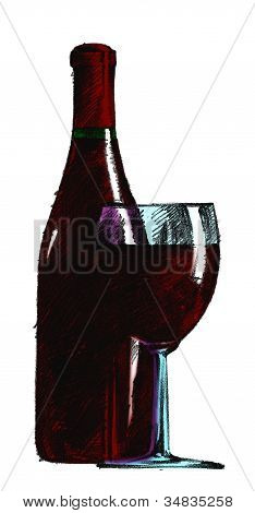Glass And Bottle 2