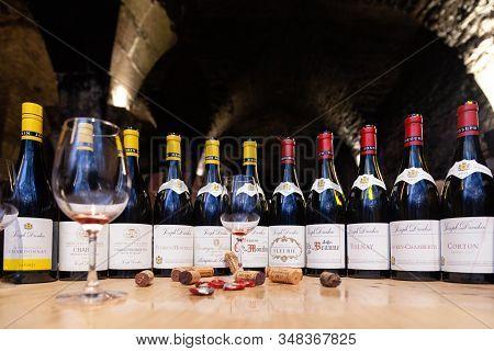 France Burgundy 2019-06-19 Degustation Grand, Premier Cru At Winery Joseph Drouhin. Chardonnay, Pino