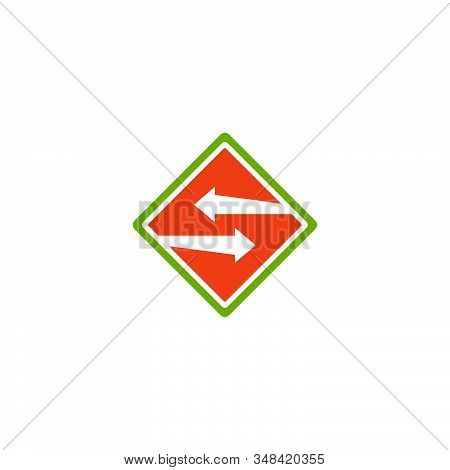 Swap Arrow Icon Logo Design. Vector Illustration