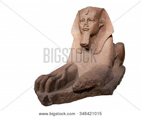 Great Sphinx Of Tanis, Ancient Egyptian Art.