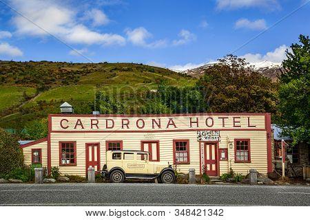 Wanaka, New Zealand, November 12, 2012: Historic Cardrona Hotel, Was Established In 1863, This Iconi