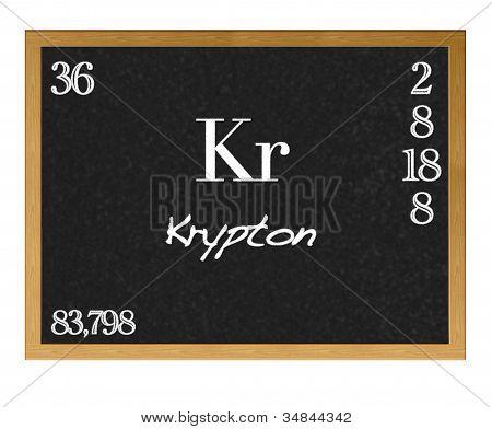 Krypton.