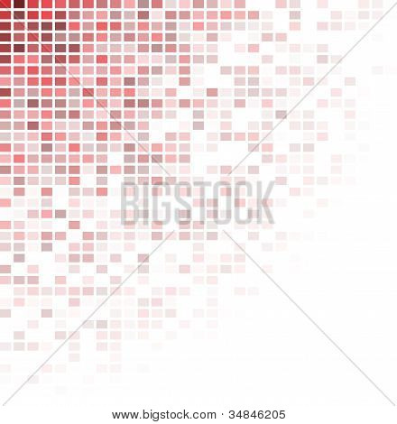 abstract red circular background